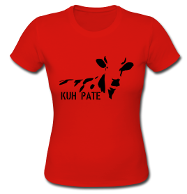 Kuhpaten Girlie Shirt