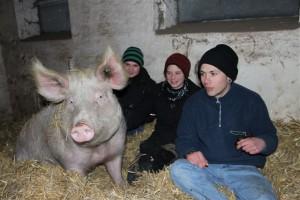 ...Svenja, Anna und Pascal