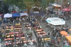 Super Stimmung und tausende Besucher auf dem gestrigen Veggie Street - Day.